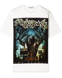 3005bc33a Junya Watanabe - White Strikeback T-shirt - Lyst