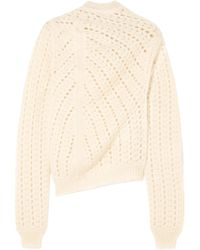 Jil Sander - Open-knit Mohair And Silk-blend Turtleneck Jumper - Lyst