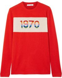Bella Freud - 1970 Cashmere-blend Sweater - Lyst