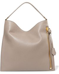Tom Ford - Alix Large Textured-leather Tote - Lyst