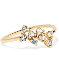 Wwake - Bias 14-karat Gold Sapphire Ring - Lyst