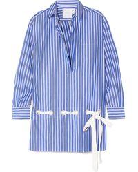Sacai   Striped Shirt   Lyst