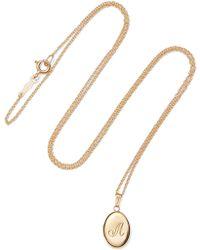 Catbird - Dollhouse 14-karat Gold Necklace Gold T - Lyst