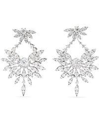 Stephen Webster - + Hearts On Fire 18-karat White Gold Diamond Earrings - Lyst