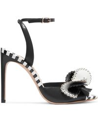 Sophia Webster - Soleil Laser-cut Leather Sandals - Lyst