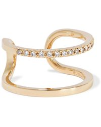 Hirotaka - Manhattan 10-karat Gold Diamond Ring - Lyst