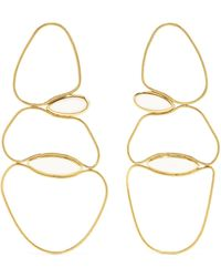 Fernando Jorge - Fluid 18-karat Gold Quartz Earrings Gold One Size - Lyst