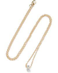 Jemma Wynne - 18-karat Gold Diamond Necklace - Lyst