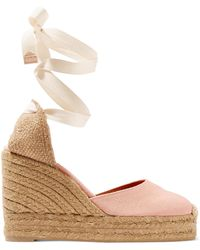 Castaner - Carina Canvas Wedge Espadrilles - Lyst