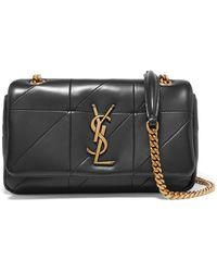 Saint Laurent - Jamie Small Quilted Leather Shoulder Bag - Lyst
