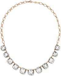 Fred Leighton - Collection 18-karat Gold, Silver And Topaz Necklace - Lyst