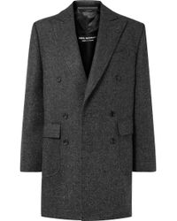 Junya Watanabe - Oversized Wool-tweed Coat - Lyst