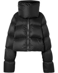 Rick Owens - Quilted Shell Down Jacket - Lyst