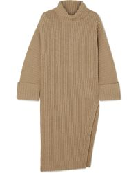 Elizabeth and James - Mae Ribbed Wool And Cashmere-blend Turtleneck Sweater - Lyst