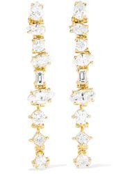 Kimberly Mcdonald | 18-karat Gold Diamond Earrings | Lyst