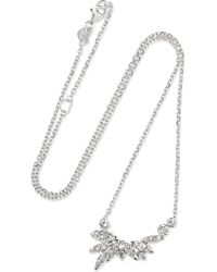 Stephen Webster - Hearts On Fire White Kites 18-karat White Gold Diamond Necklace - Lyst