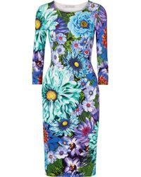 Mary Katrantzou | Pluto Printed Stretch-jersey Dress | Lyst
