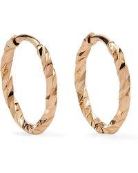 Maria Black - Huggie 14-karat Gold Hoop Earrings - Lyst