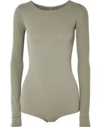 Rick Owens - Stretch-jersey Bodysuit - Lyst