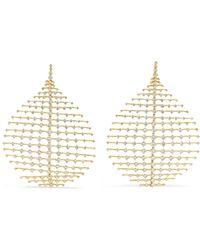 Fernando Jorge - Disco 18-karat Gold Diamond Earrings - Lyst