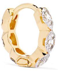 Maria Tash - Invisible Eternity 18-karat Gold Diamond Earring - Lyst