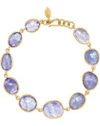 Pippa Small - 18-karat Gold Tanzanite Bracelet - Lyst