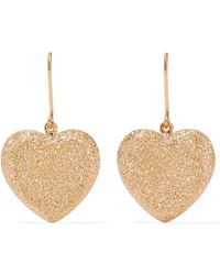 Carolina Bucci - Heart 18-karat Gold Earrings - Lyst