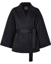 Theory - Wool And Cashmere-blend Jacket - Lyst