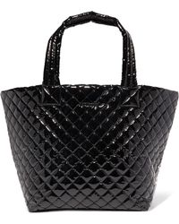 MZ Wallace - Metro Medium Quilted Vinyl Tote - Lyst