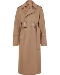 Acne Studios - Oversized Cotton-twill Trench Coat - Lyst