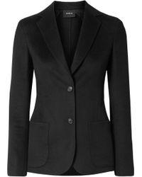 Akris - Saigon Wool And Cashmere-blend Jacket - Lyst