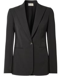 The Row - Limay Cotton-blend Blazer - Lyst