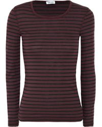 Splendid - Venice Striped Jersey Top - Lyst