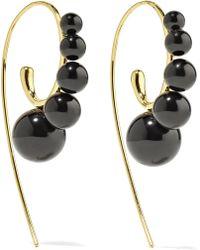Ippolita - Nova 18-karat Gold Onyx Earrings - Lyst