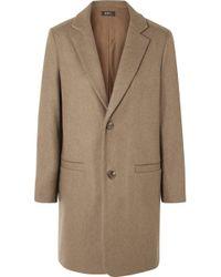 A.P.C. - Carver Wool-blend Coat - Lyst