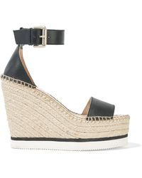 187f9851e8f Lyst - Alexander Wang Rudy Suede Platform Sandals in Brown