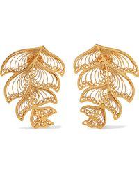 Mallarino - Erika Gold Vermeil Earrings - Lyst