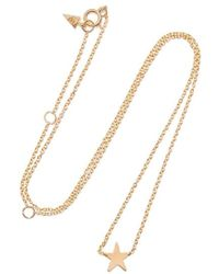 Loren Stewart - Mini Star Gold Necklace - Lyst