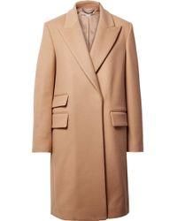 Stella McCartney - Melton Wool-blend Coat - Lyst