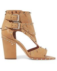 Laurence Dacade - Deric Embellished Leather Sandals - Lyst