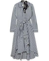 Maje - Raprita Gingham Dress - Lyst