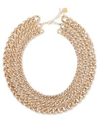 Rosantica - Ingranaggio Gold-tone Pearl Necklace - Lyst