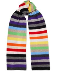 Madeleine Thompson - Kotewall Striped Cashmere Scarf - Lyst