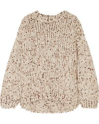 Brunello Cucinelli - Sequined Chunky-knit Sweater - Lyst