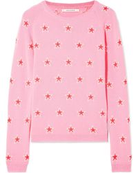 Chinti & Parker - Acid Star Cashmere Sweater - Lyst