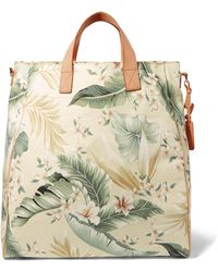 Zimmermann - Tropical Palm Printed Canvas Tote - Lyst
