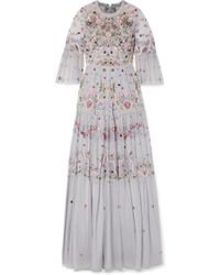 Needle & Thread - Dreamers Lace Gown - Lyst