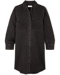 Madewell - Denim Mini Dress - Lyst