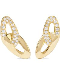 Ippolita - Cherish Bond 18-karat Gold Diamond Earrings - Lyst