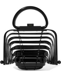 Cult Gaia | Lilleth Mini Collapsible Acrylic Tote | Lyst
